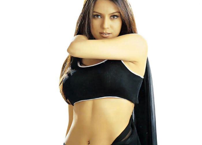 Mahima Chaudhary Sexy Navel Expose Hot Wallpaper