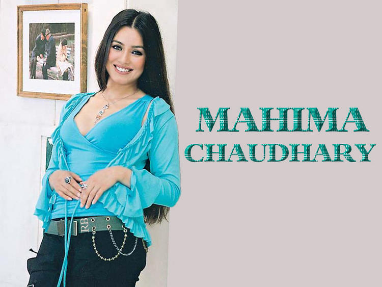 Mahima Chaudhary Sweet Smiling Wallpaper