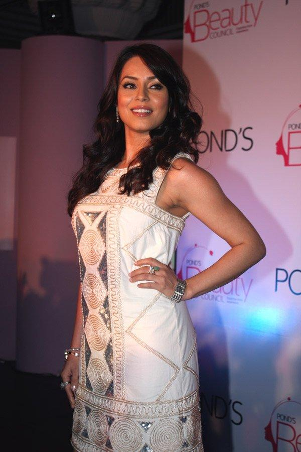 Mahima Chaudhary White Dress Glamorous Stills