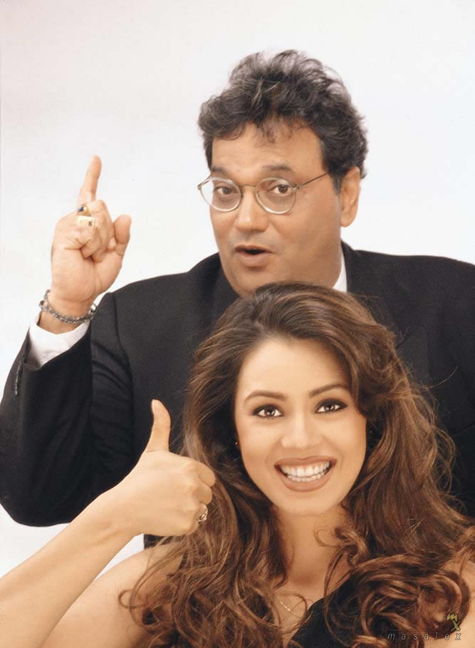 Subhash Ghai And Mahima Chaudhary Nice Pics
