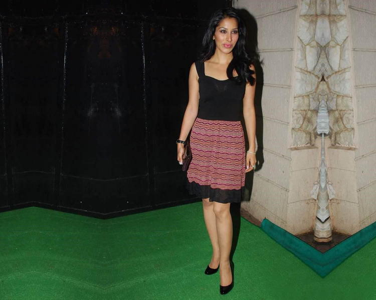 Sophia Chaudhary Latest Photo On Green Carpet