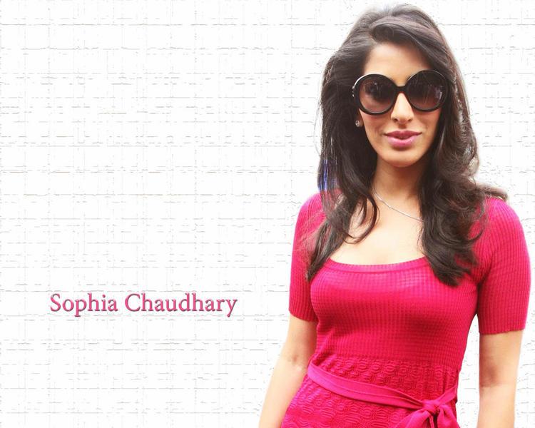 Stunning Babe Sophia Chaudhary Stylist Wallpaper