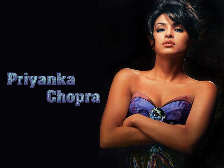 Priyanka Chopra Latest Sexy Wallpaper In Strapless Dress