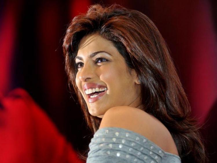 Priyanka Chopra With Open Smile Pic