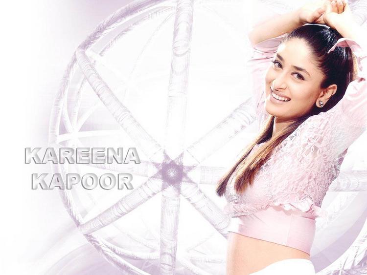 Kareena Kapoor In Pink Tops Sexy Still