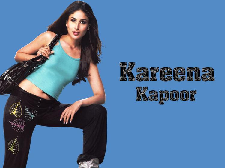Kareena Kapoor Sexy Pose Shiny Face Look Wallpaper