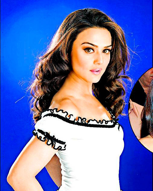Preity Zinta Dazzling Wallpaper