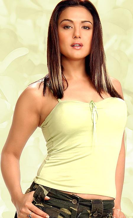 Preity Zinta Hot Pose Photo Shoot