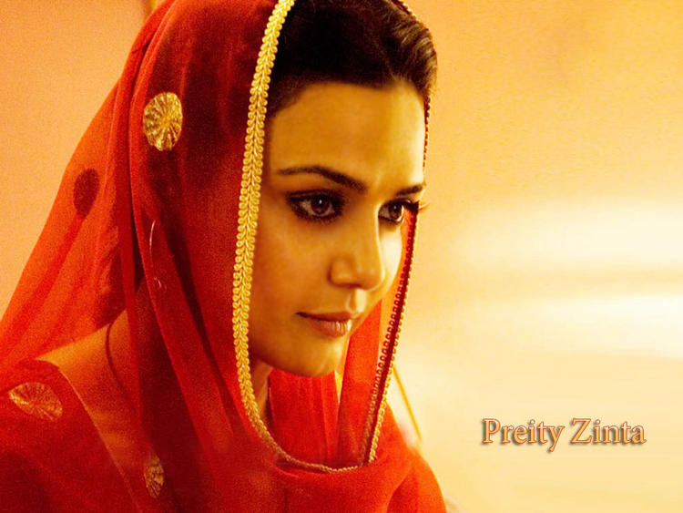 Preity Zinta Simple Look Wallpaper