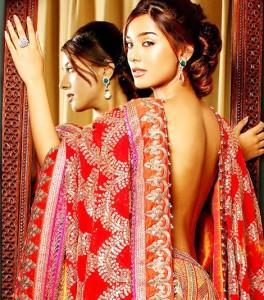 Amrita Rao Glamour Back Bare Still