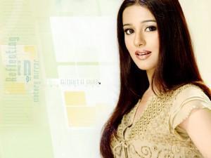 Amrita Rao Shiny Beauty Look Pic