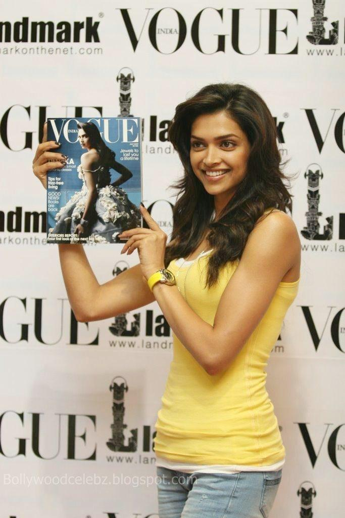 Deepika Padukone Vogue Magazine Launch Still