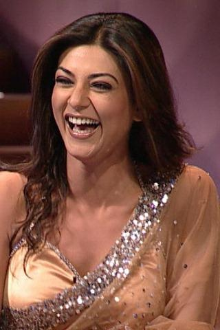 Sushmita Sen Natural Smiling Pics
