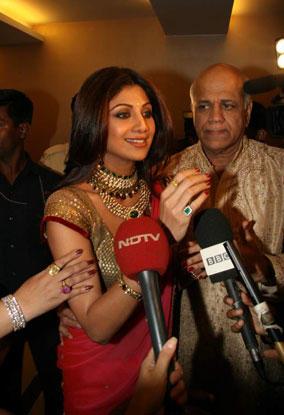Shilpa Shetty And Raj Kundra Engagement Latest Pics
