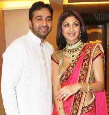 Shilpa Shetty And Raj Kundra Engagement Photo