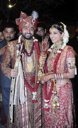 Shilpa Shetty And Raj Kundra Wedding Pics