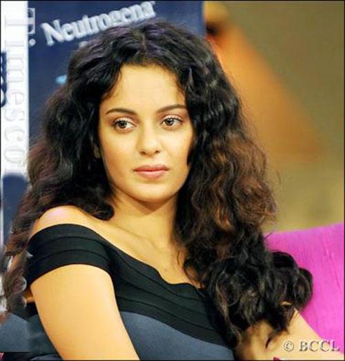 Curly Hair Beauty Kangana Ranaut Images