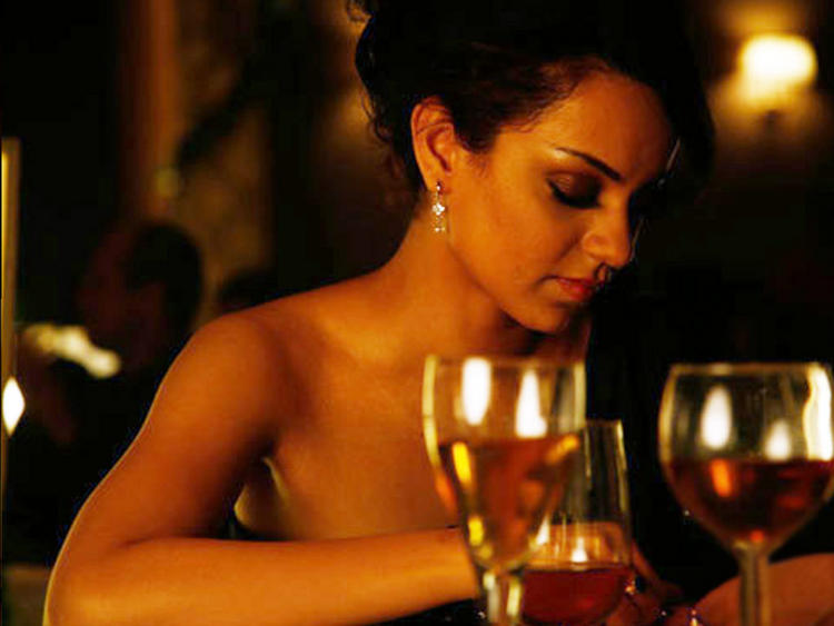 Kangana Ranaut Hot Acting Still
