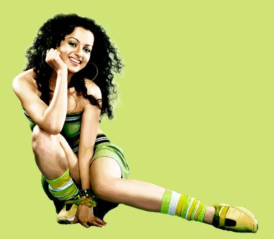 Kangana Ranaut Sexy Stylist Wallpaper