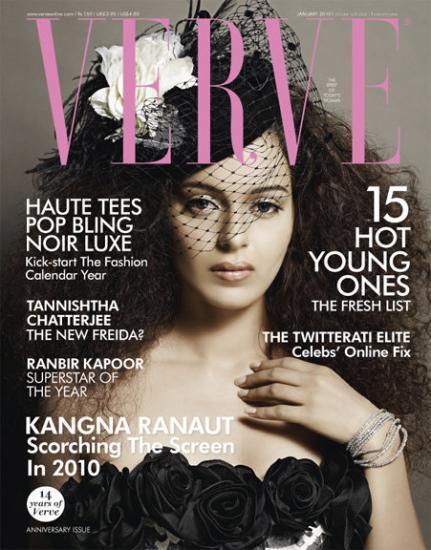 Kangana Ranaut Verve Magazine Still