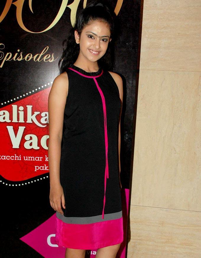 Avika Gor During 1000th Episode Of Balika Vadhu