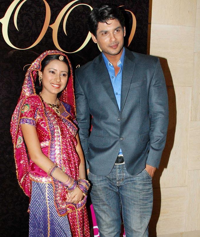 Pratyusha,Siddharth at Balika Vadhu 1000 Episode Bash