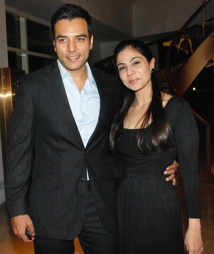 TV Actor Chaitanya Choudhary With His Wife