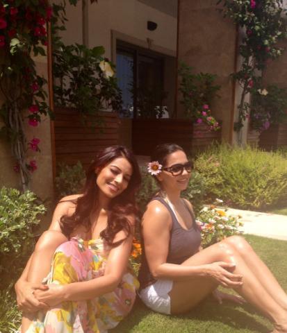 Bipasha Basu Having Fun in Cyprus