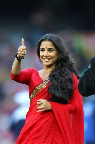 Vidya Balan at Richmond Tigers VS Sydney Swans
