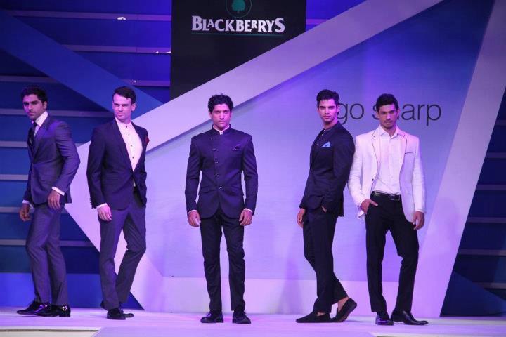 Farhan Akhtar at Blackberrys Sharp Night