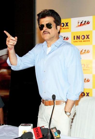 Anil Kapoor Promotes Tezz