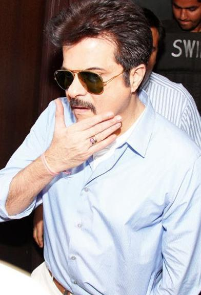 Anil Kapoor Spotted at Promotional Event Of Tezz