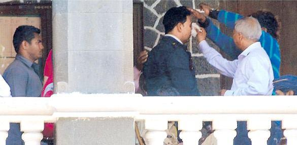 Akshay Kumar On the Sets of New Movie Oh My God