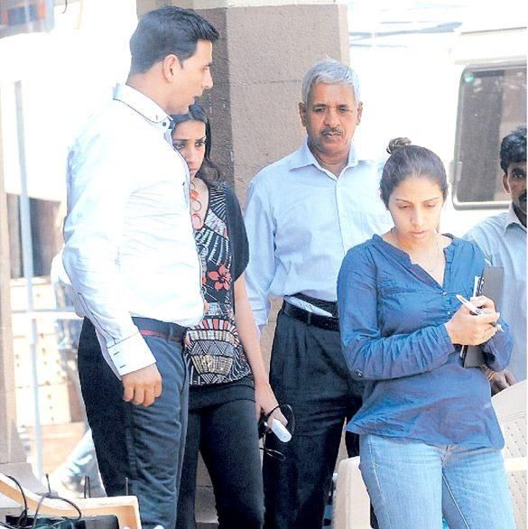 Akshay Kumar On the Sets of Oh My God