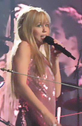 Miley Cyrus Sexy Performance Still