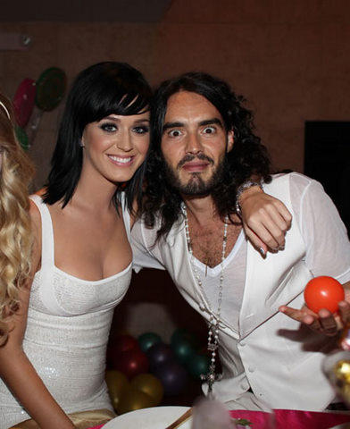 Katy Perry and Russell Brand Cute Photo