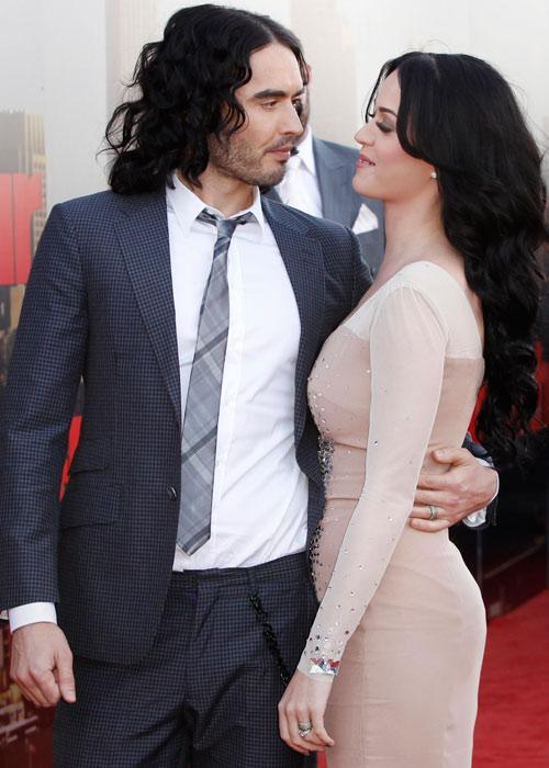 Katy Perry and Russell Brand Sexy Pic