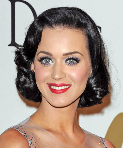 Katy Perry Hot Eyes and Red Sweet Lips Still