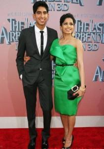 Dev Patel and Freida On red Carpet