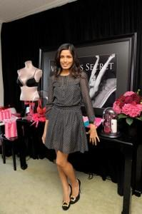 Freida Pinto Latest Still In Cute Dress
