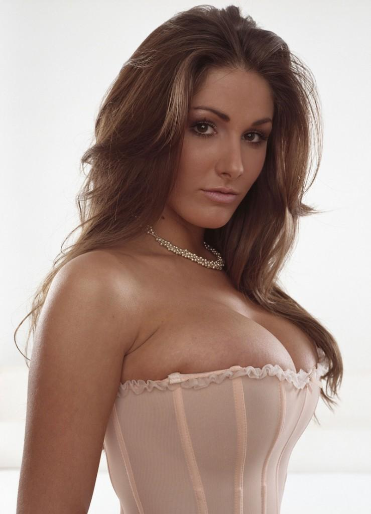Lucy Pinder Big Boob Exposing Photo
