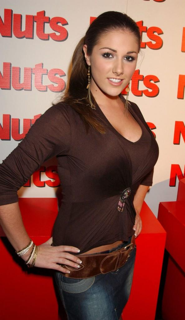 Lucy Pinder at Nuts Magazine Birthday Party