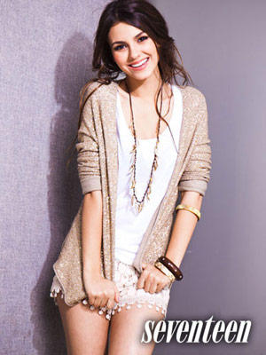 Victoria Justice Cute Face With Smiling Pics On Seventeen