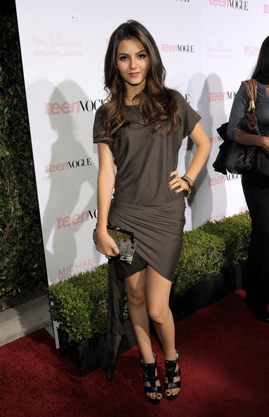 Victoria Justice Gorgeous Look At 8th Annual Teen Vogue Young Hollywood