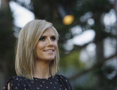 Heidi Klum Dazzling Look With Nice Pics