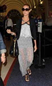 Heidi Klum Wearing Goggles Stylist Pics