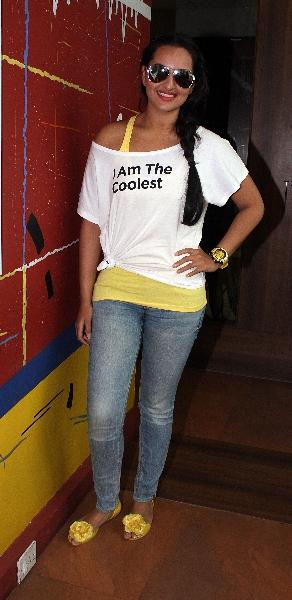 Sonakshi Sinha Spotted at Radio Station