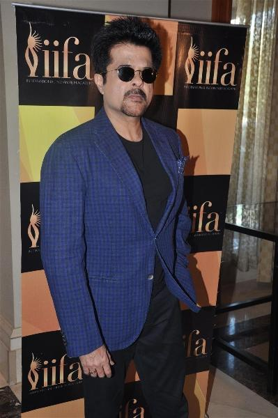 Anil Kapoor Spotted at The Press Meet Of IIFA