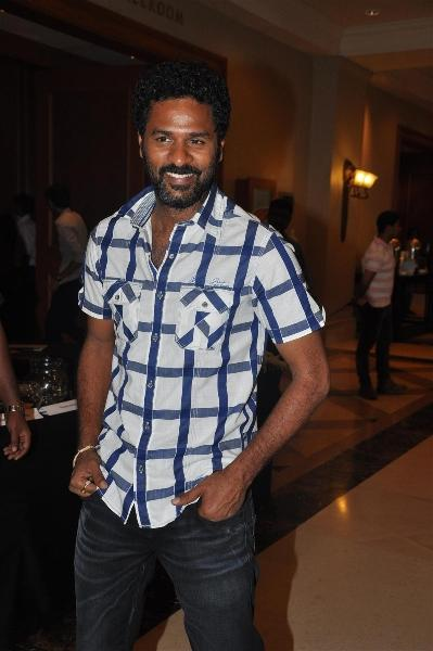 Prabhu Dheva Spotted at IIFA Press Meet