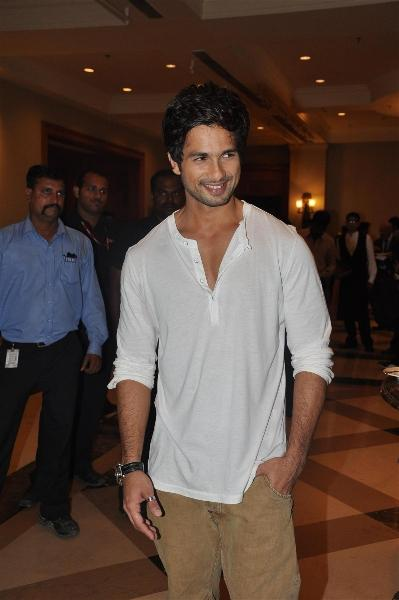 Sexiest Star Shahid Kapoor at IIFA Press Meet